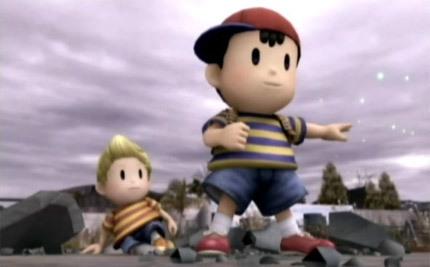 Ness en Super Smash Bros Brawl