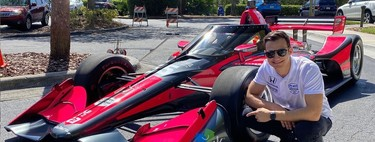 """""""No he venido a la IndyCar para volver a la Fórmula 1"""": Hablamos con Álex Palou, un piloto español viviendo el sueño americano"""