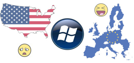 Windows Phone 7 a la baja en USA y al alza en Europa