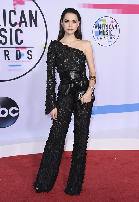 mejor vestidas american music awards 2017 maia mitchell