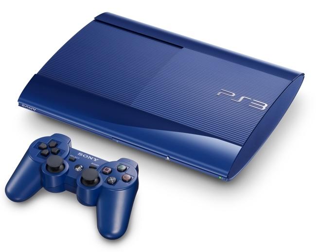 PS3 en azul