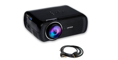 Si necesitas un mini proyector que traer y llevar, tienes el Crenova XPE460 en Amazon a 74 euros