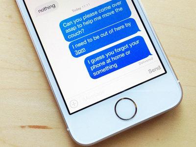 Cómo mantener ocultos los mensajes en la pantalla de bloqueo del iPhone