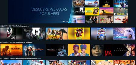 Amazon Prime Video lanza su servicio de alquiler y venta de películas y documentales en España