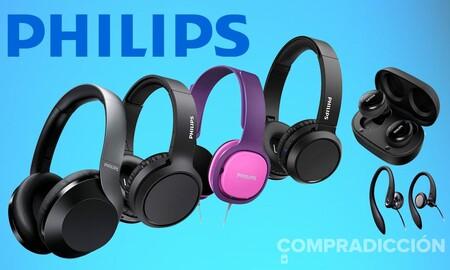9 ofertas en auriculares y radiodespertadores Philips en Amazon: de diadema, true wireless, con cable o sin él y a los mejores precios