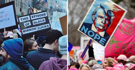 Las 21 mejores pancartas de la #WomensMarch del pasado fin de semana