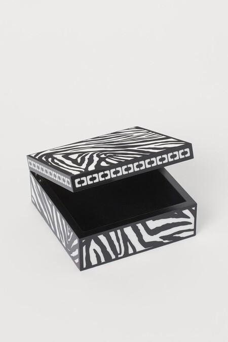 Caja con animal print