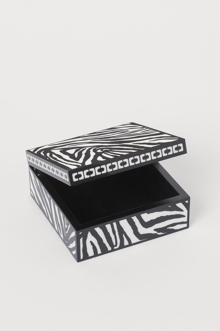 Caja animal print