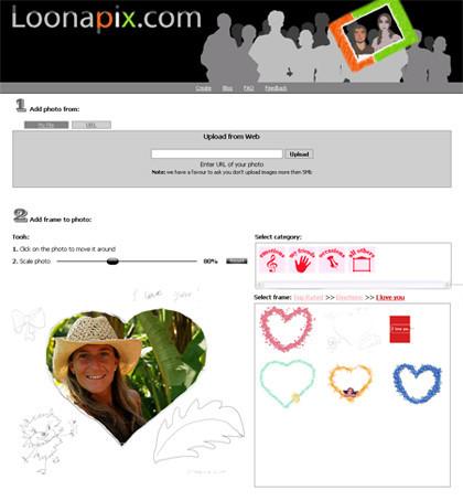 Loonapix, marcos virtuales para tus fotos