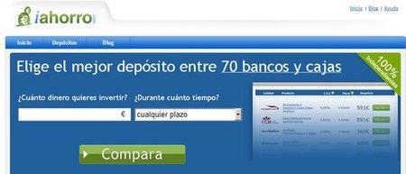 iahorro.com: nuevo comparador de depósitos bancarios