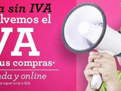 Semana sin IVA en Toys 'r us: cupón de devolución del IVA en compras superiores a 60€
