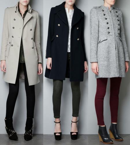 gris abrigo gris 2013 zara abrigo zara 3Lq54ARj