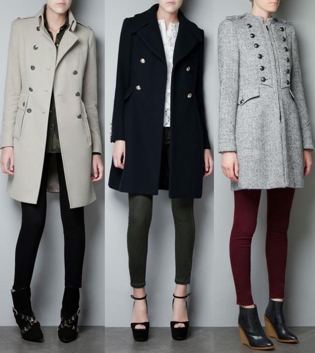 Zara abrigos 2013