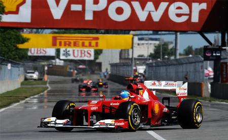 Fernando Alonso y Ferrari se la jugaron pero no salió bien