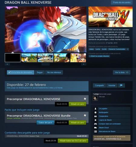Dragon Ball Xenoverse No Llegara Manana A Mexico 00