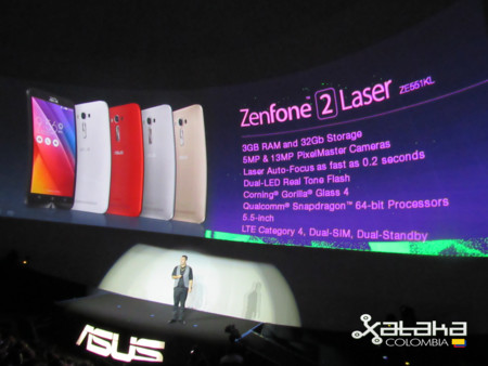 Zenphone 2 Laser