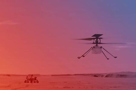 Ingenuity Marte Perseverance Vuelo