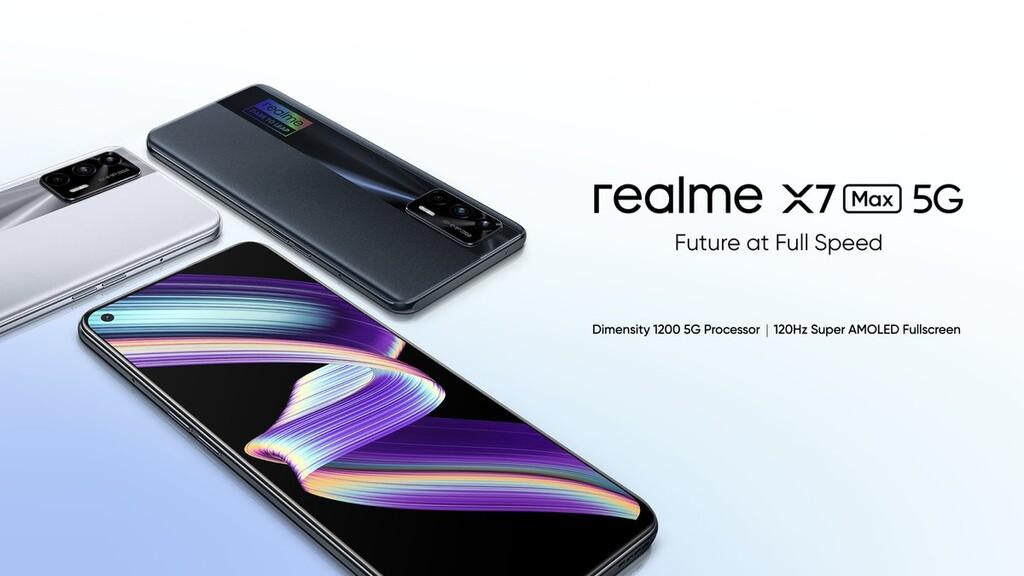 Realme X7 Max 5G: los Realme X7 suben de nivel con mejor procesador y pantalla