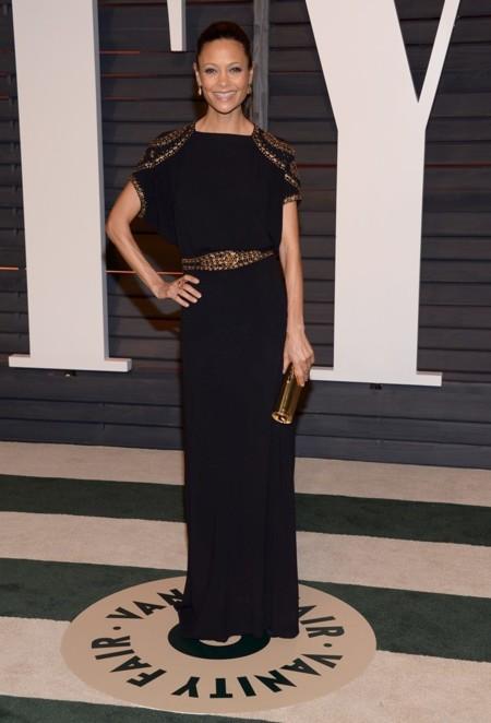 Thandie Newton en la fiesta Vanity Fair