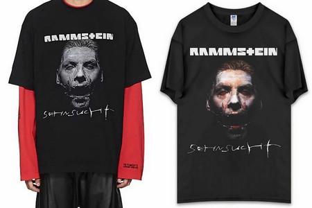 La Ultima Broma De Vetements Es Venderte Una Camiseta De Rammstein Por Mas De Treinta Veces Su Precio