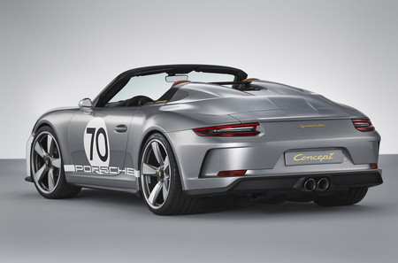 Porsche 911 Speedster Concept trasera lateral