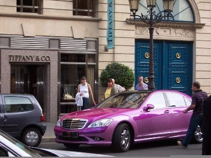 Un Mercedes peculiar