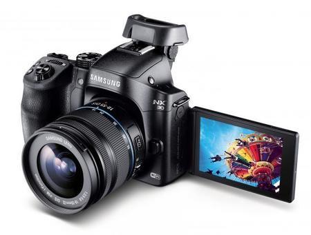 Samsung lanza NX30 incluyendo nuevos y diferentes lentes