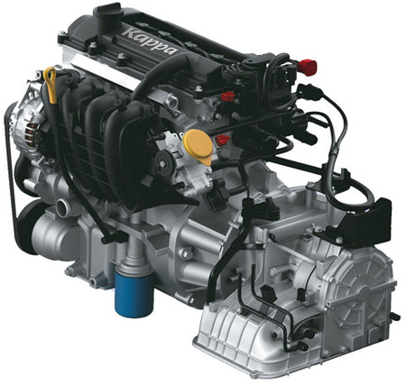 Hyundai motor Kappa