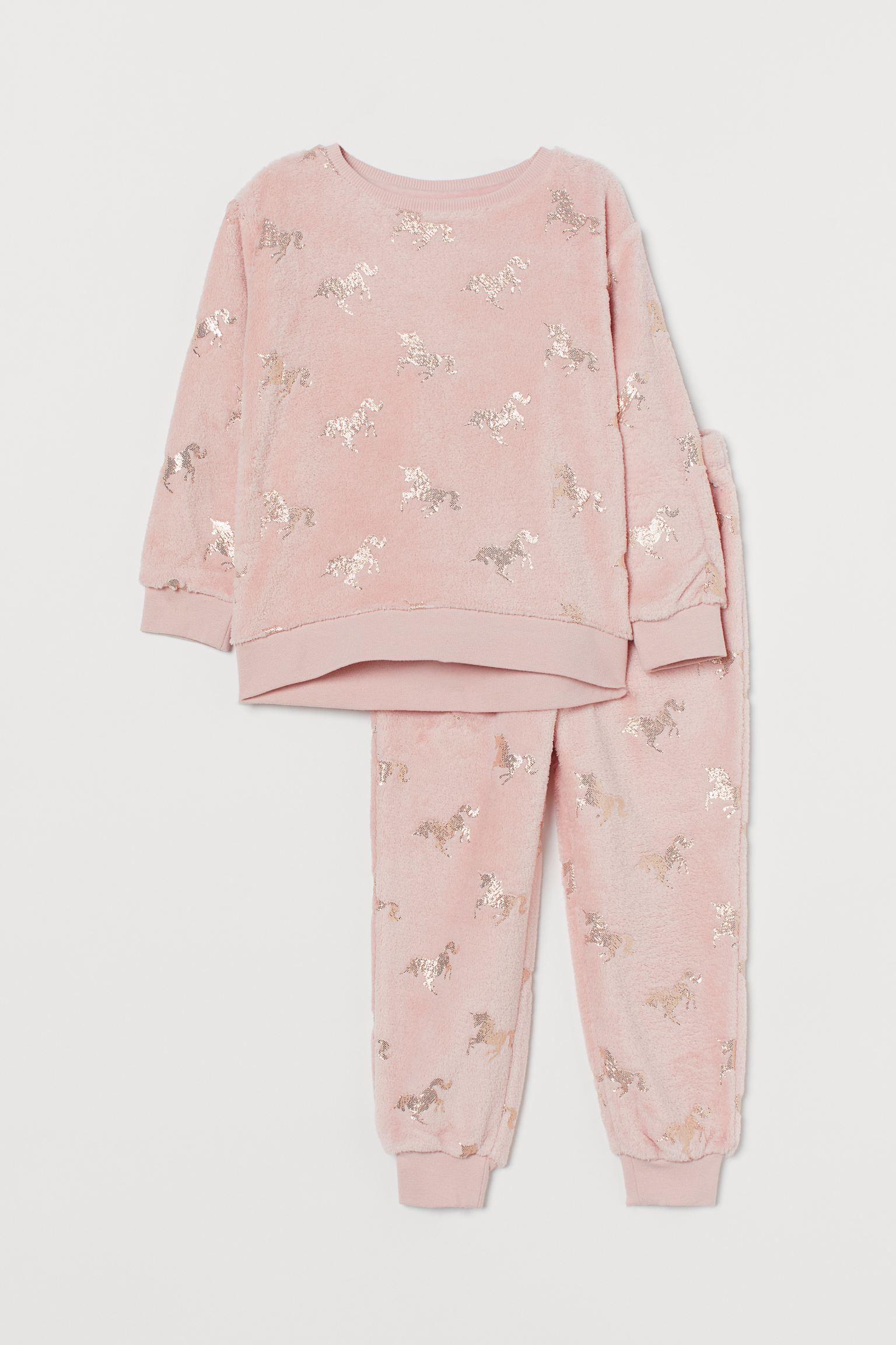 Pijama en tejido polar