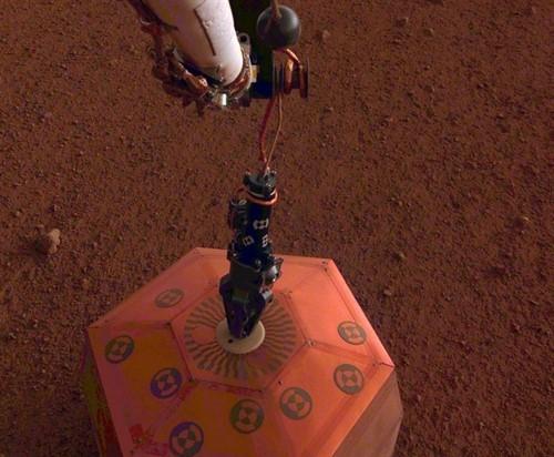 Se ha registrado por primera vez un seísmo en Marte