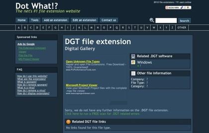 Dot What, nuevo directorio de información sobre las extensiones