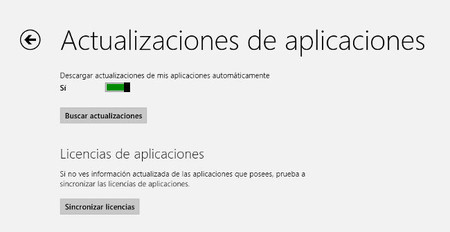 Actualizaciones de aplicaciones