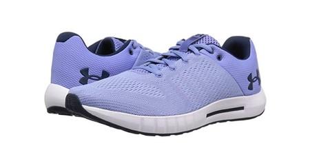 Desde 20,85 euros podemos hacernos con unas  zapatillas de running para mujer Under Armour UA W Micro G Pursuit en Amazon