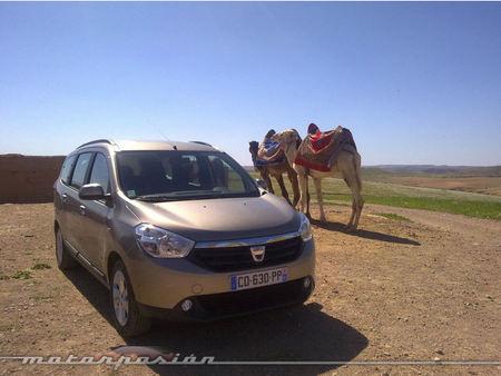 Dacia Lodgy, presentación y prueba en Marrakech (parte 1)