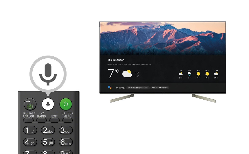 How to control voice to your tv with Android TV