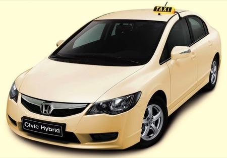 Taxi híbrido Honda