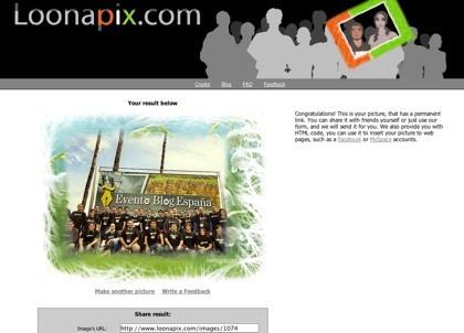 Loonapix, enmarcando virtualmente nuestras fotos