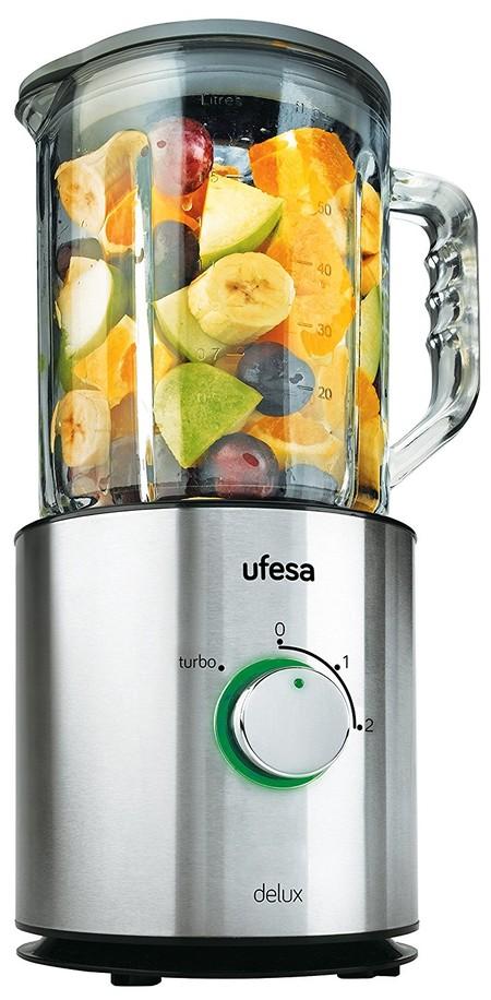 La batidora de vaso con jarra de vidrio Ufesa BS4798 cuesta sólo 44 euros con envío gratis en Amazon