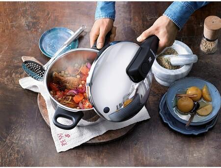 Ofertas de cocina en Amazon, con ollas rápidas WMF, batidoras Solac o vajillas Luminarc rebajadas