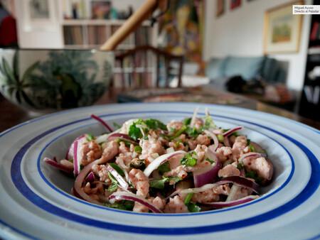 Laab Gai Ensalada Tailandesa De Pollo