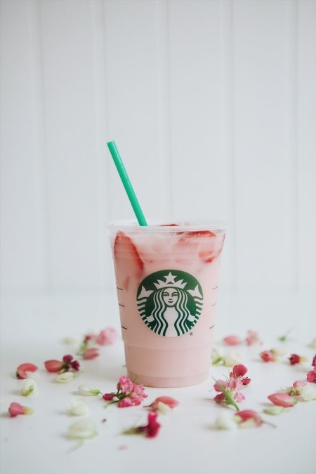 Lady Gaga Cups Of Kindness Starbucks Pink Drink