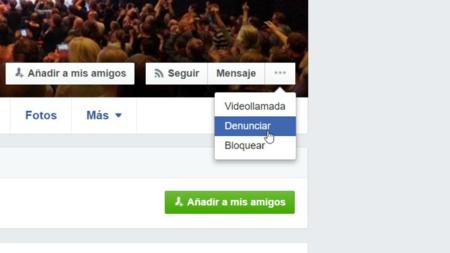 Denuncia Facebook