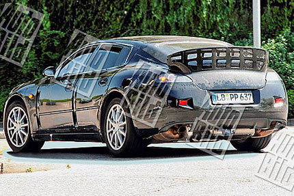 Porsche Panamera, el alerón será de serie