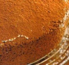 Bizcocho de chocolate con menta