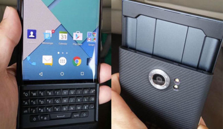 Nuevas imágenes con más detalle de Venice, la BlackBerry con Android y teclado QWERTY
