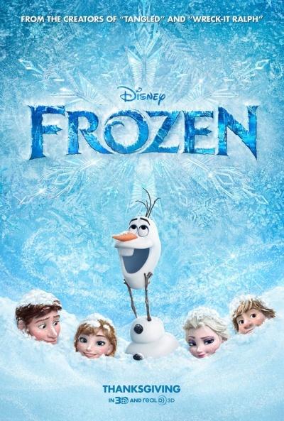 Foto de Carteles de 'Frozen: El reino del hielo' (1/5)