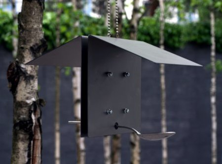 Casa para alimentar pájaros