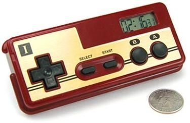 Despertador en forma de mando de NES