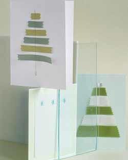 Ideas para hacer postales de Navidad en casa