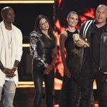 La coleta en zig-zag de Jordana Brewster en los MTV Movie Awards merece mención aparte
